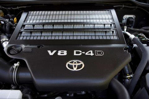 The 4.5L diesel found in the Australian LandCruiser 200
