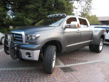 Tundra Diesel Dually shown at 2007 SEMA show.