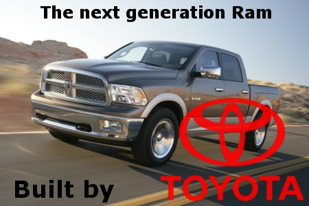 toyota to build next generation dodge ram tundra headquarters blog. Black Bedroom Furniture Sets. Home Design Ideas