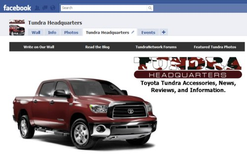 Toyota Tundra events
