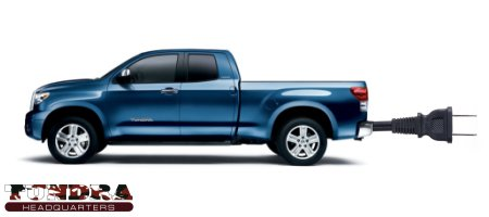 Where is the Electric Toyota Tundra?