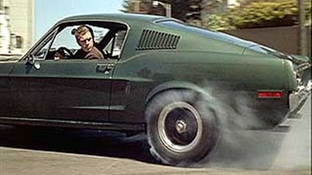 If you haven't seen the car chase in the movie Bullit, rent it. Feel free to skip the rest of the movie, however.