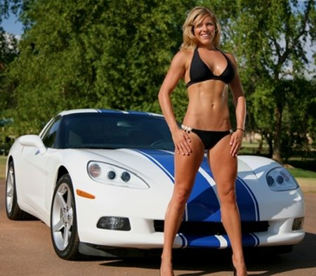 Pictures of fast cars and bikini girls are in almost every car magazine (not that I'm complaining)