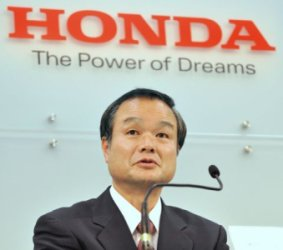 Honda President Takanobu Ito doesn't understand American car culture.