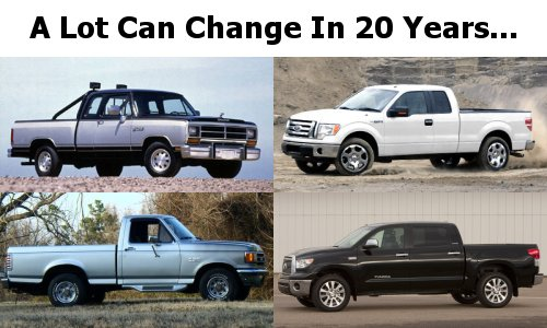 Trucks have changed a lot in the last 20 years
