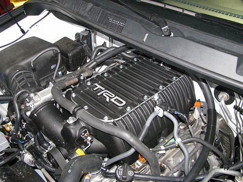 TRD Supercharger for the Toyota Tundra