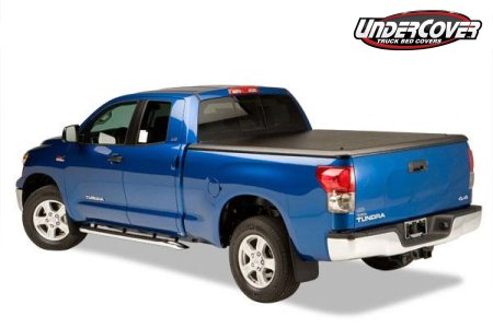 Undercover's tonneau is a decent option for covering your Tundra's bed.