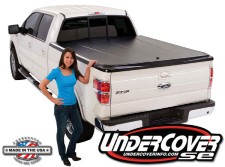 Undercover's SE tonneau is a more stylish version of their basic tonneau
