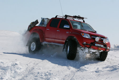 Top Gear Arctic Hilux