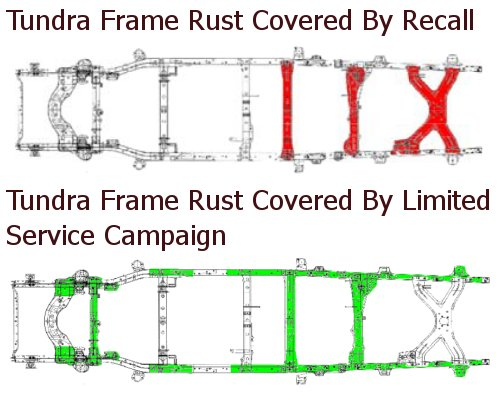 Toyota expands Tundra frame rust coverage