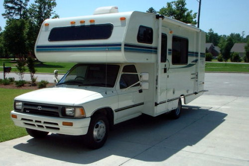 Toyota motorhome