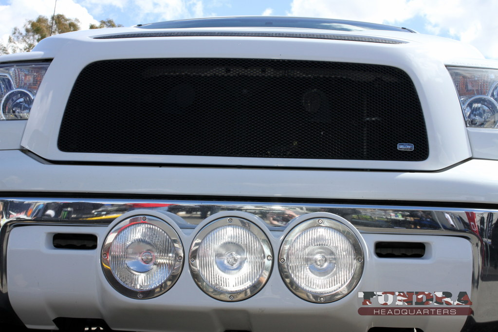 Tundra fog lights lower valance