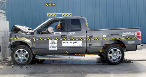 2011 Ford F-150 Crash Test Ratings