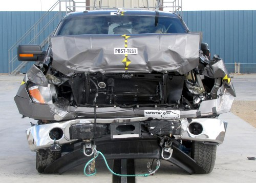 2011 Ford F-150 Crash Test Results