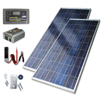 Sunforce solar panel kit for RVs