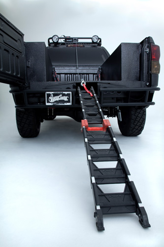 Ultimate Motocross Toyota Tundra Truck Ramp