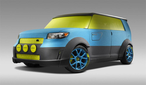 SEMA 2011 - Scion Numeric xB by 686