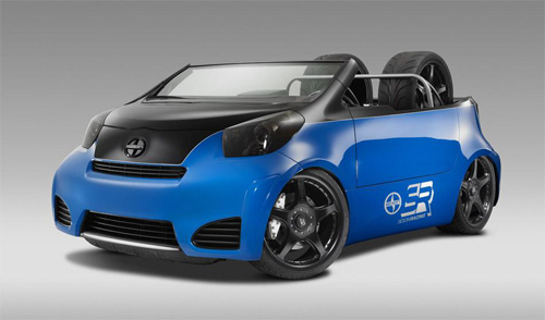 SEMA 2011 - Scion iQ Pit Boss by Cartel