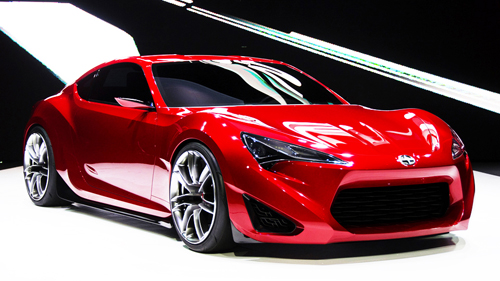 Scion Unveils FR-S