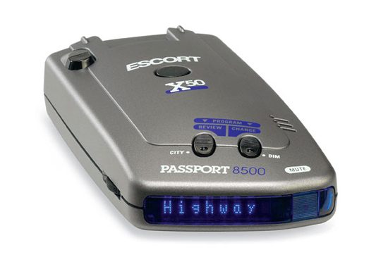 The Escort 8500 x50 Radar Detector