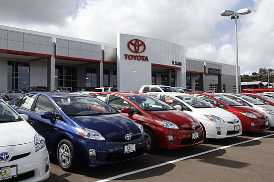 Toyota Posts Big Increase
