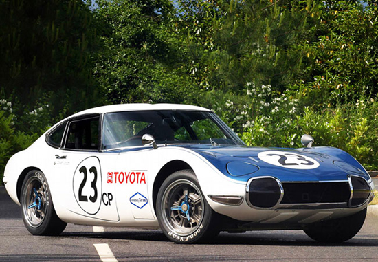 Shelby Racing And Toyota 2000GT