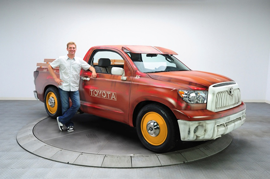 NASCAR Driver Clint Bowyer Custom 2011 Toyota Tundra 