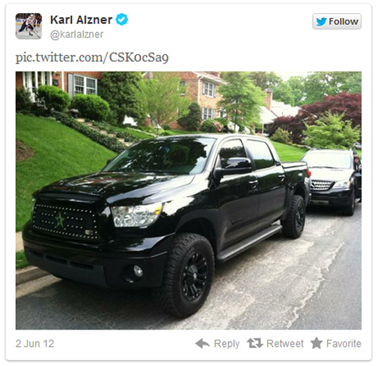 Selling Your Toyota Tundra on Twitter