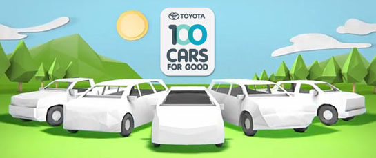 Toyota Announces 2012 Cars for Good Winners