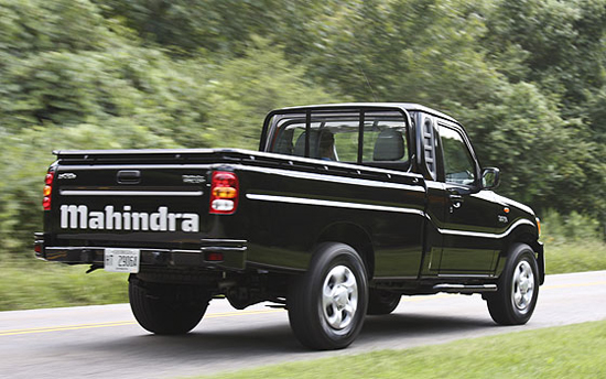 No US Mahindra Diesel Pickup Ever