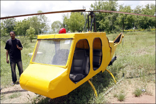 Make a Helicopter From Your Toyota