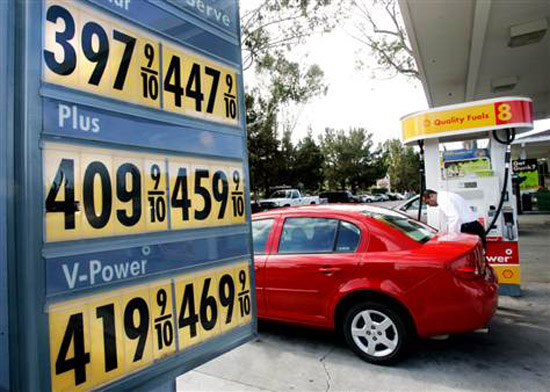 Gas Prices Rise - Hybrid Collaborations 