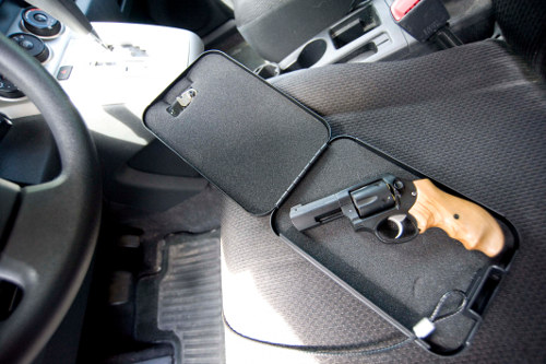 gun seat mount 