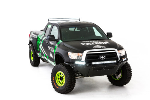 Toyota Racing Dream Build - DeJoria Toyota Tundra - Front Profile
