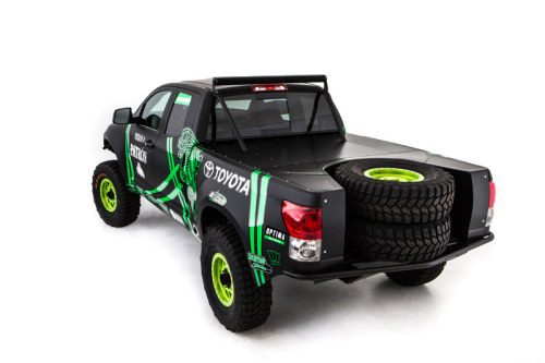Toyota Racing Dream Build - DeJoria Toyota Tundra - Rear Profile