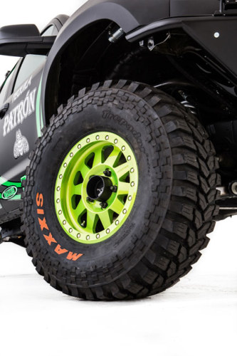 Toyota Racing Dream Build - DeJoria Toyota Tundra - Tires