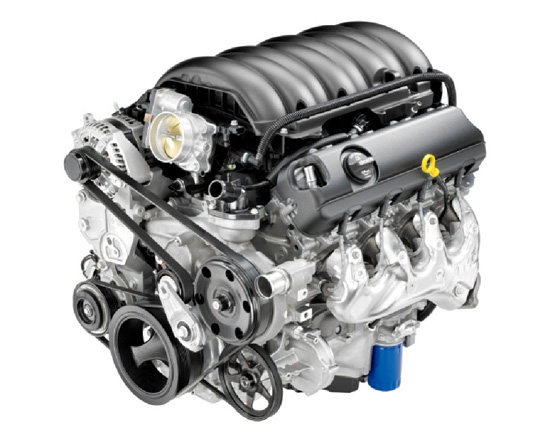2014 Chevy Silverado - Engine