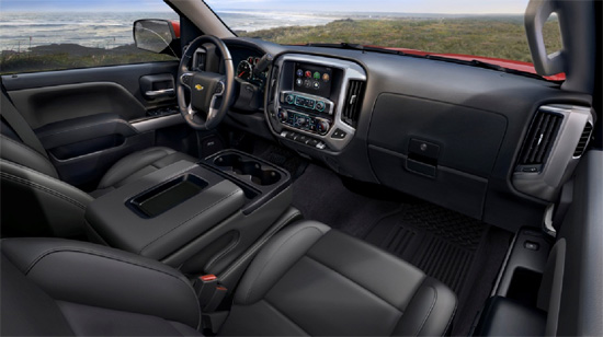 2014 Chevy Silverado - Interior