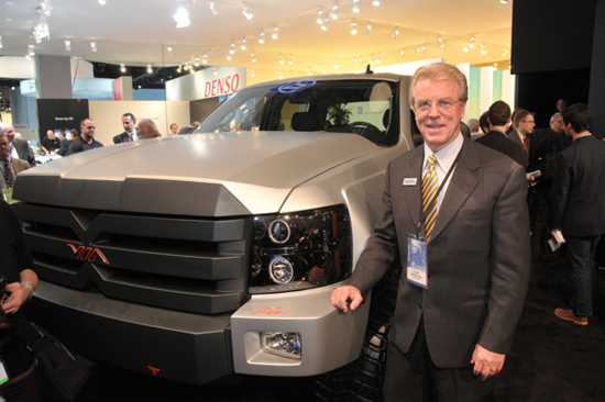 2013 NAIAS Full-Size Truck Wrap - VIA Motors