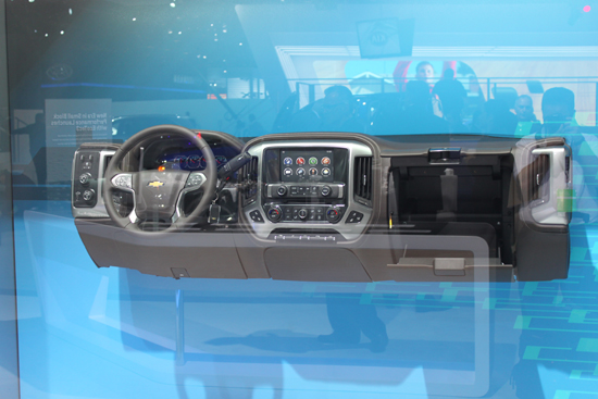 2013 NAIAS Wrap-up Thoughts - GM Instrument Panel