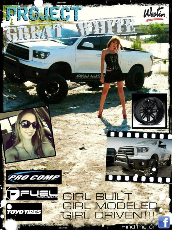 Project Great White - Featured Truck Collage