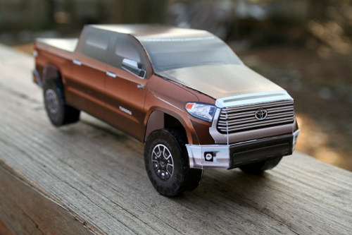 2014 Tundra Paper Model