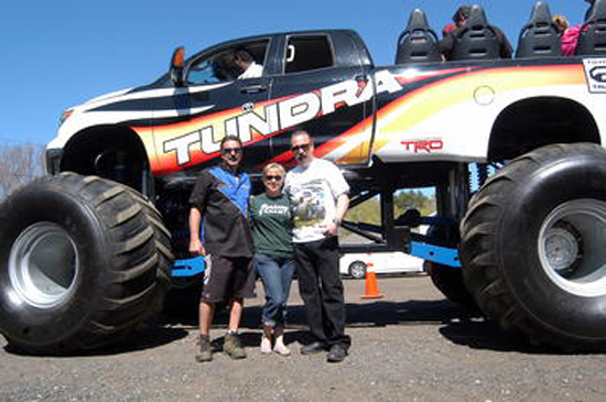 Monster Jam Toyota Tundra Visits Sandy Hook